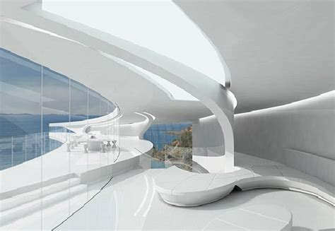 futuristic interior design 20 ideas