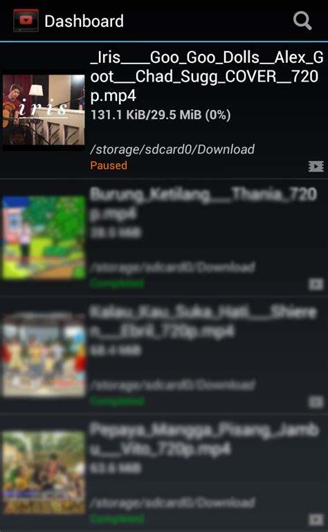 download youtube untuk android youtube downloader untuk android