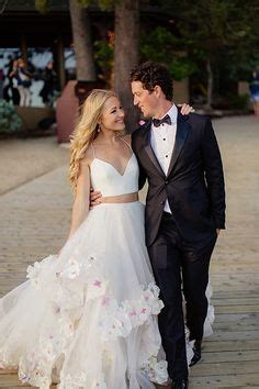 hayley paige bridal dresses wedding photos refinery29 black white ivory wedding on pinterest wedding tiaras