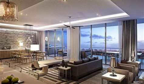 living room fort lauderdale riva luxury waterfront condos in fort lauderdale