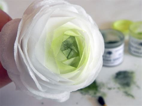 How To Make Paper Ranunculus - wafer paper ranunculus tutorial cakecentral