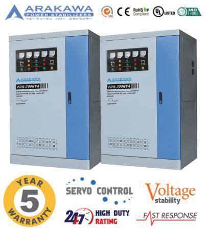 Stabilizer Arakawa Pdr 3 Phase Pdr 400kva jual stabilizer 300 kva automatic pdr automatic