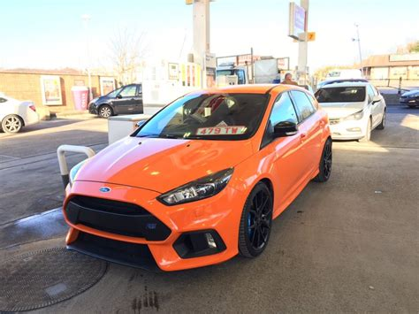 focus rs colors ford focus rs mk3 limited orange edition www