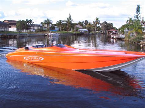 orange boat 38 donzi triple 350 yamahas page 8 the hull truth