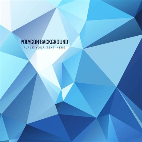 Modern Blue Modern Blue Polygonal Background Free Vectors Ui