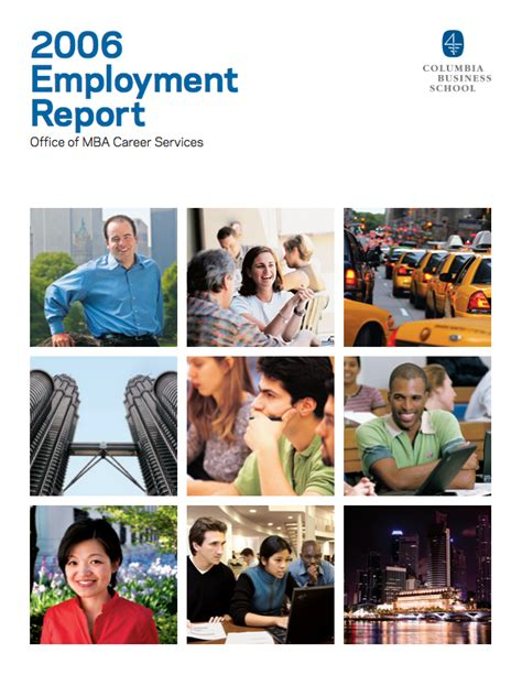 Of Wisconsin Mba Employment Report by Employment Reports Recruiting Columbia Business School