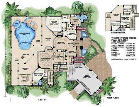 mediterranean style floor plans mediterranean house plans home design wdgf2 4682 13283