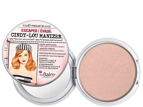 The Balm Manizer Highlighter the balm lou manizer highlighter shimmer