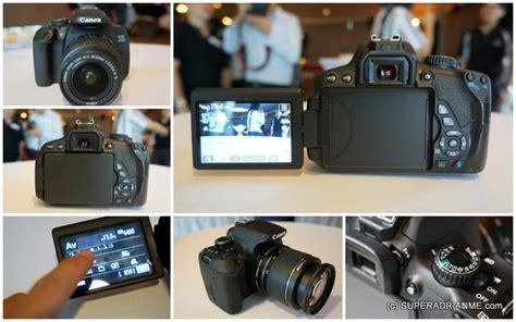 Kamera Dslr Canon Touchscreen canon eos 650d dslr world s touch screen dslr
