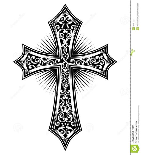 cross tattoo flash art simple christian cross designs search projects