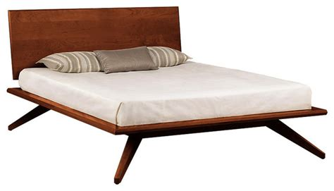 Mid Century Platform Bed With Storage Shop Houzz Copeland Furniture Astrid Bed