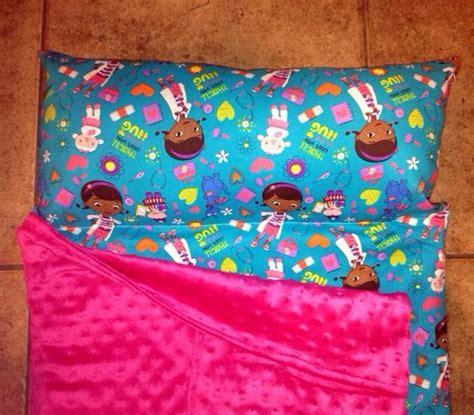 personalized preschool kinder nap mat in doc mcstuffins