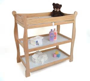 Change Table Style Badger Basket Sleigh Style Changing Table By Oj Commerce 87 94 169 04