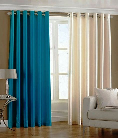 Aqua Color Curtains Designs Sanaya Set Of 2 Window Crush Curtains Buy Sanaya Set Of 2 Window Crush Curtains At Low