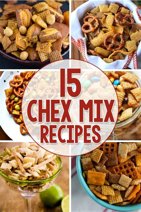 100 chex mix recipes on pinterest chex mix chex recipes and cereal treats