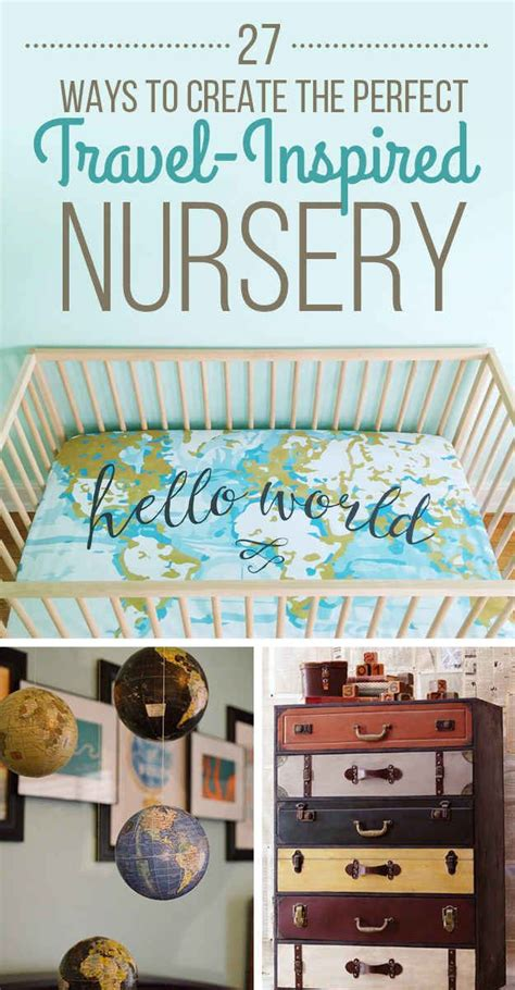 Travel Themed Nursery Decor Best 25 Room Ideas Ideas Only On Pinterest Tips For Moving House College Savings And