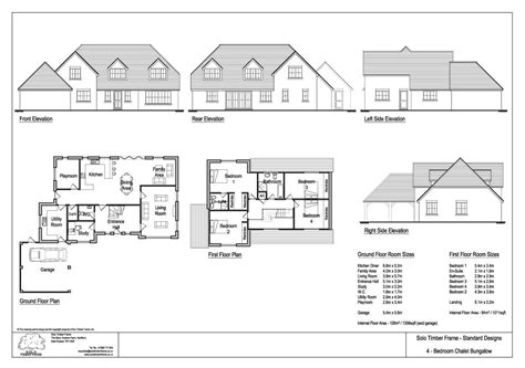 chalet bungalow floor plans uk friends clump 4 bedroom chalet design solo timber frame