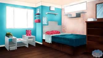 Background Bedroom Visual Novel Backgrounds Images