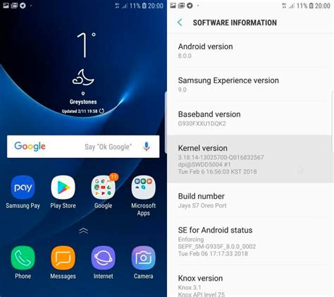 When Android 8 Release For S7 by Instala Android 8 Oreo En El Samsung Galaxy S7 Edge Con