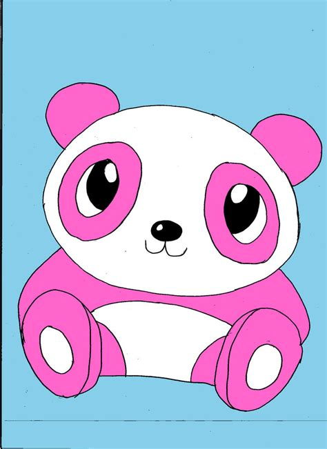 Panda Pink by Pink Panda By Monkey Ninja148 On Deviantart
