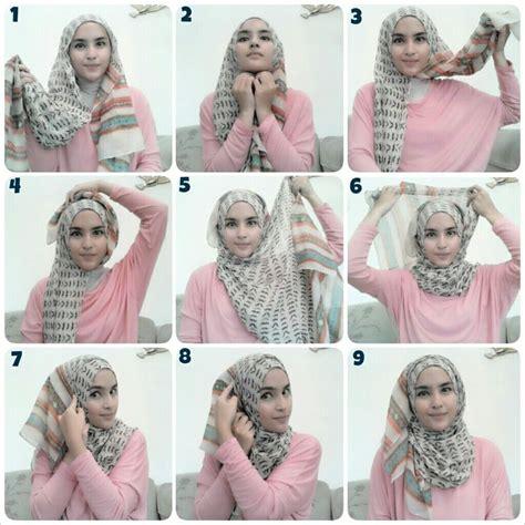 3 tutorial hijab cantik mudah dan syar i terbaru yang fesyen hijabi 7 tutorial hijab mudah dan cantik