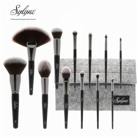 Makeup Brush Holder Set sylyne 12pcs professional makeup brush set holder