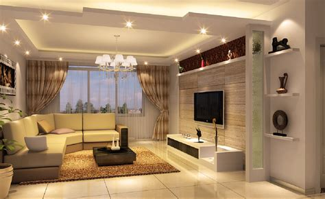 interior design of ceiling lighting rendering interior
