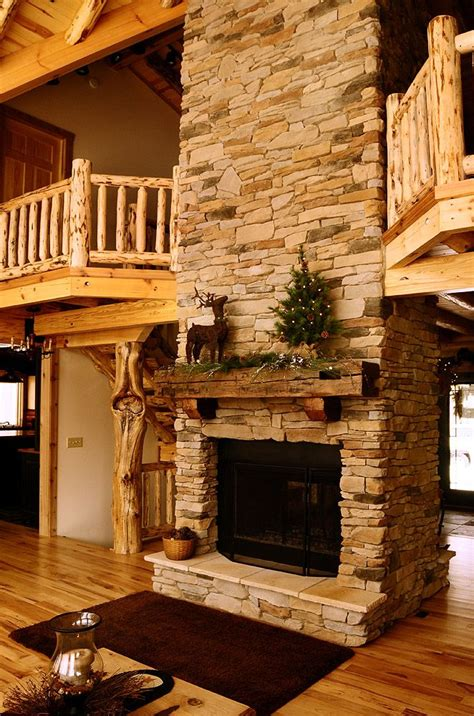 Cabin Fireplace Mantels by 25 Best Ideas About Cabin Fireplace On