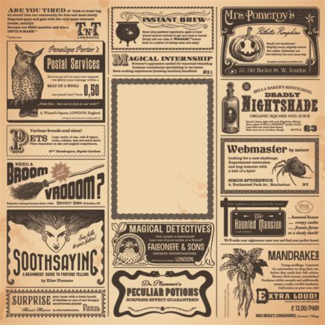 layout elements newspaper creative newspaper design elements vector set 04 vector