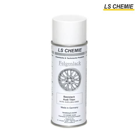 Aluminium Lackieren Spraydose by 400 Ml Spr 252 Hdose Basislack Audi Titan L8au Ls Chemie Gmbh