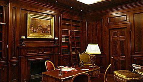 walnut paneled offices mahogany home office paneled