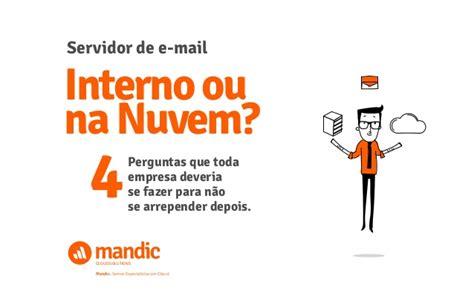 web mail interno it servidor de e mail interno ou na nuvem