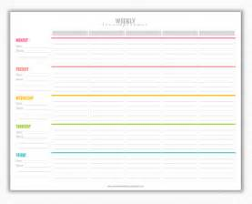 6 Week Lesson Plan Template by My Strawberry Baby Free Printable Weekly Lesson Plan Template