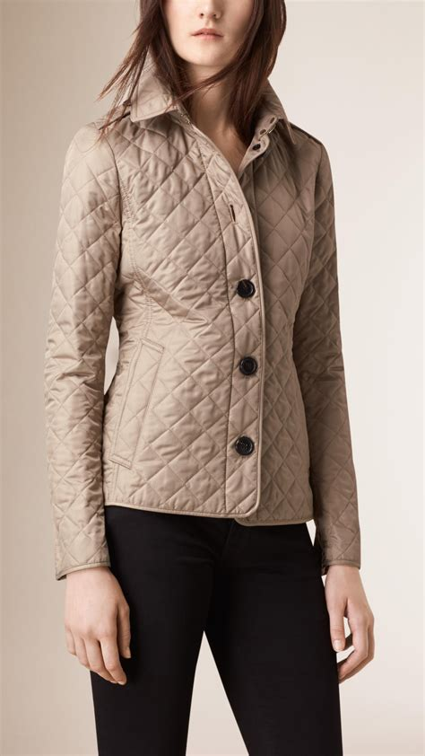 Quilted Jacket Burberry by Burberry Quilted Jacket In Lyst
