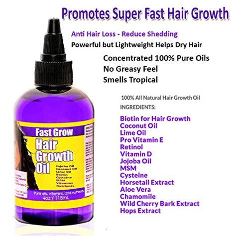 my hair regrow with balck seeed oil fast grow hair growth oil 4 oz import it all