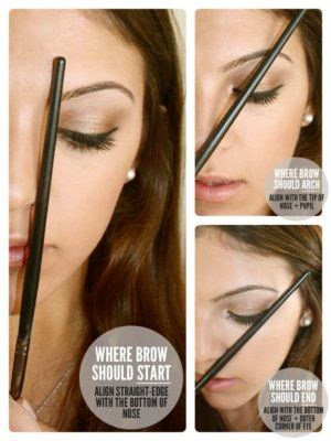 how to get a perfect arch for your eyebrows 14 steps every quince girl needs those perfect brows for her big day