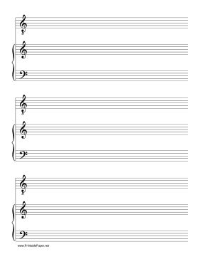 printable manuscript paper piano printable solo tenor voice with accompanist music paper
