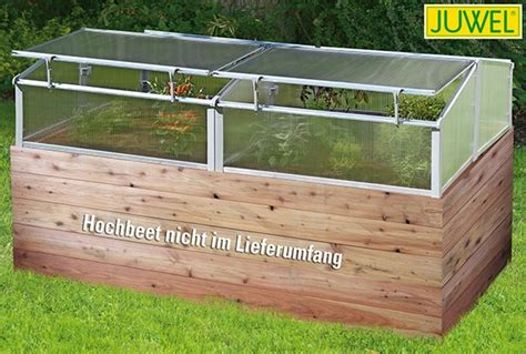 Hochbeet Holz Bauen 1100 by Juwel Thermohaus F 252 R Hochbeet Abdeckung Hochbeet 2x1 M