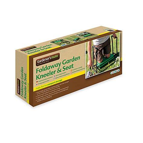 buy gardman foldaway garden kneeler seat from bed bath