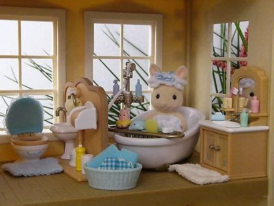 calico critters bathroom 363 best images about miniature and dollhouses on pinterest miniature miniature