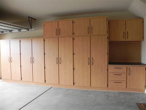 To build garage cabinets plans storage cabinets for garage garage