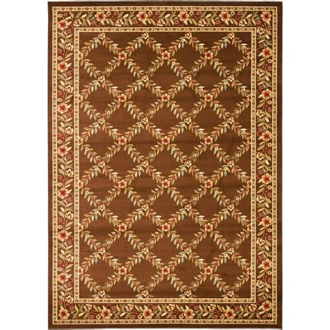 8 X 12 Area Rug Safavieh Lyndhurst Blue Multi 8 Ft 9 In X 12 Ft Area Rug Lnh552 6591 9 The Home Depot