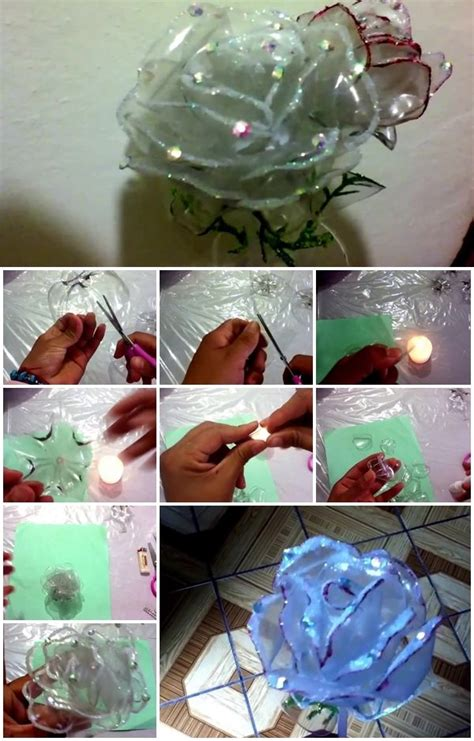 plastic bottle rose usefuldiycom