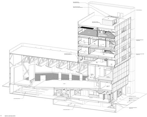 section through a building reinventing the construction document
