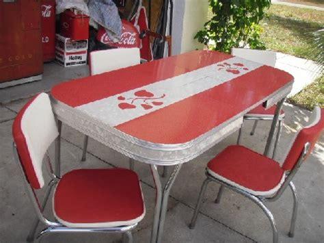 retro laminate table 1950s original formica dinette