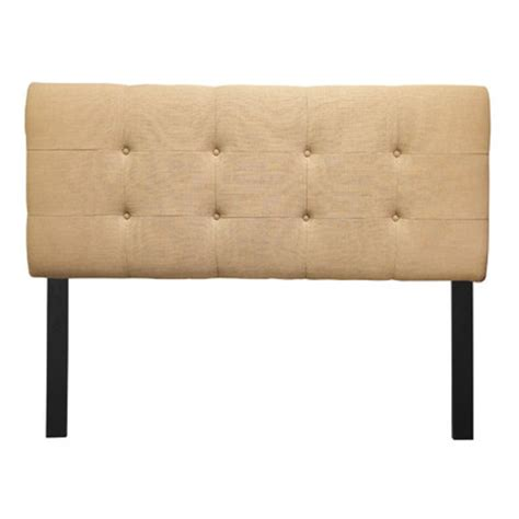 Tufted Headboard Bed Buy Upholstered Headboard Size Full Color Loft Sand