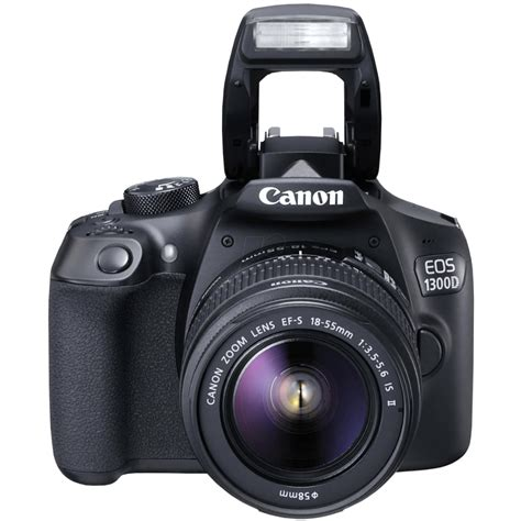 Canon Eos 1300d Kit 18 55 Is Ii canon eos 1300d kit with 18 55mm is ii lens digital slr black