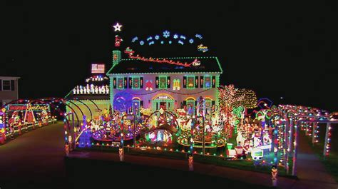 winning hoag family light show the great christmas light