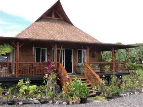 nipa hut typical house mi amada filipinas