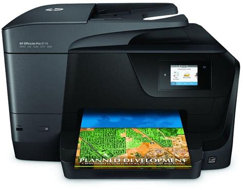 Printer Hp Officejet Pro 8710 hp officejet pro 8710 colored printer wireless all in one